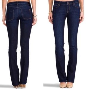 DL1961 Cindy Slim Boot Dark Denim Jeans Size 27